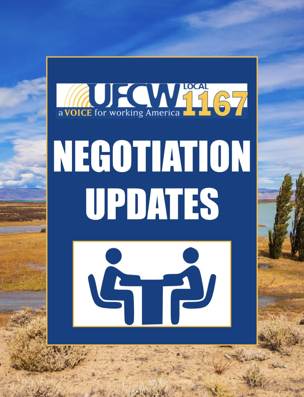 Negotiation Update